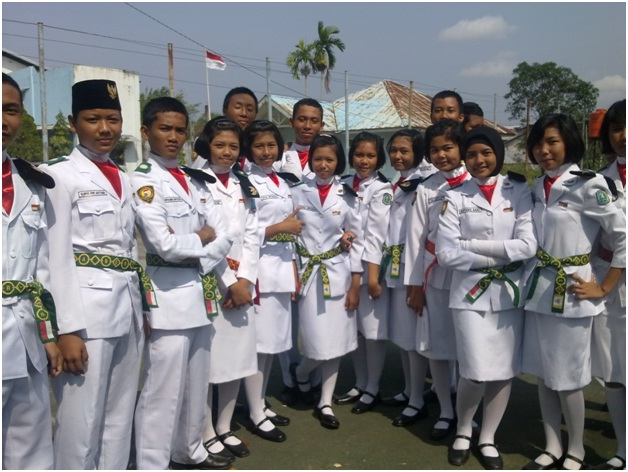 calon paskibraka 2013 senin 15 april 2013